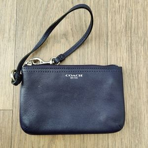 Coach Small Purple Wristlet